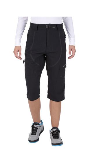 Shorts Endura Hummvee 3/4 con forro negro para mujer